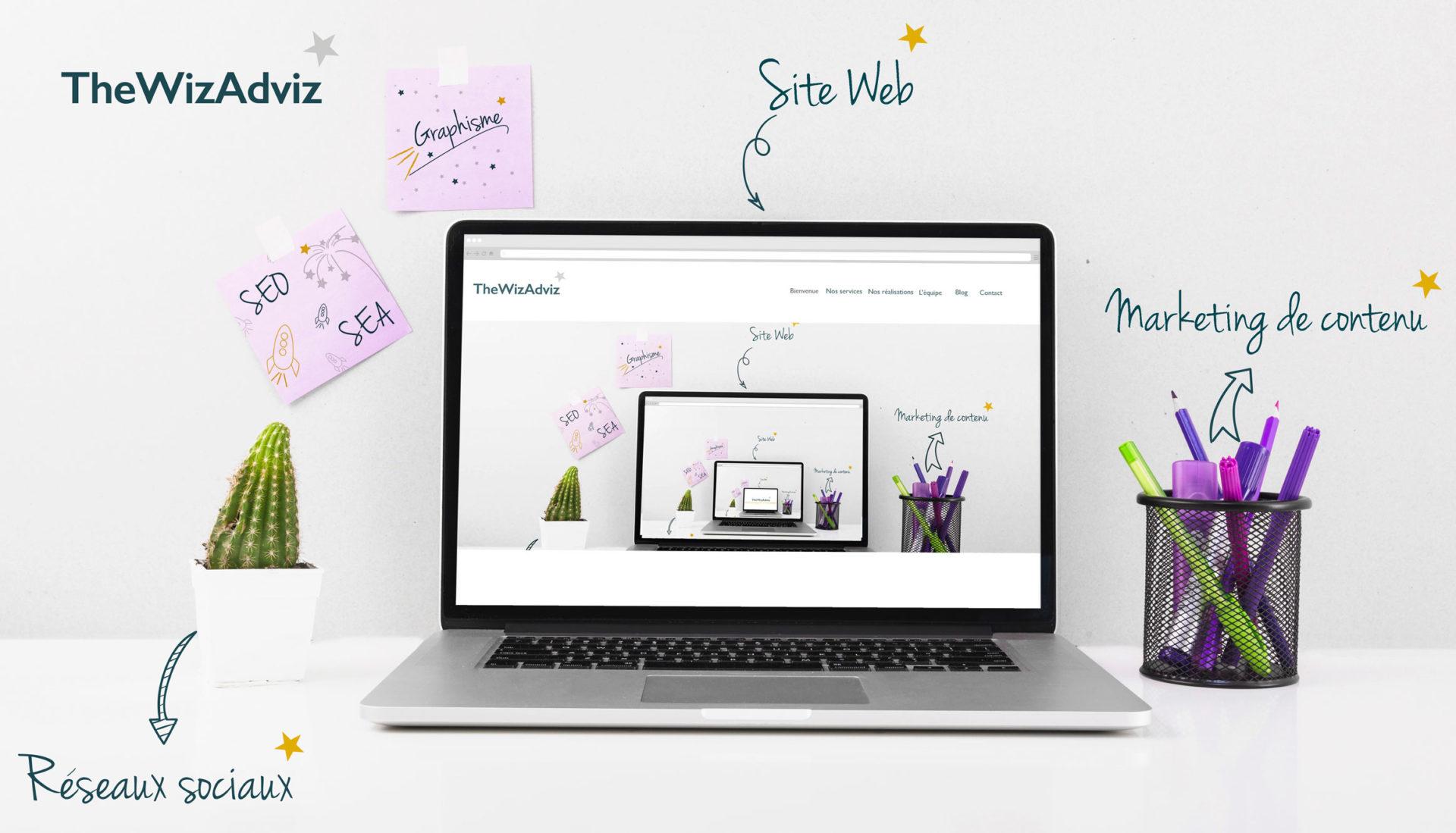 TheWizAdviz experts web et communication