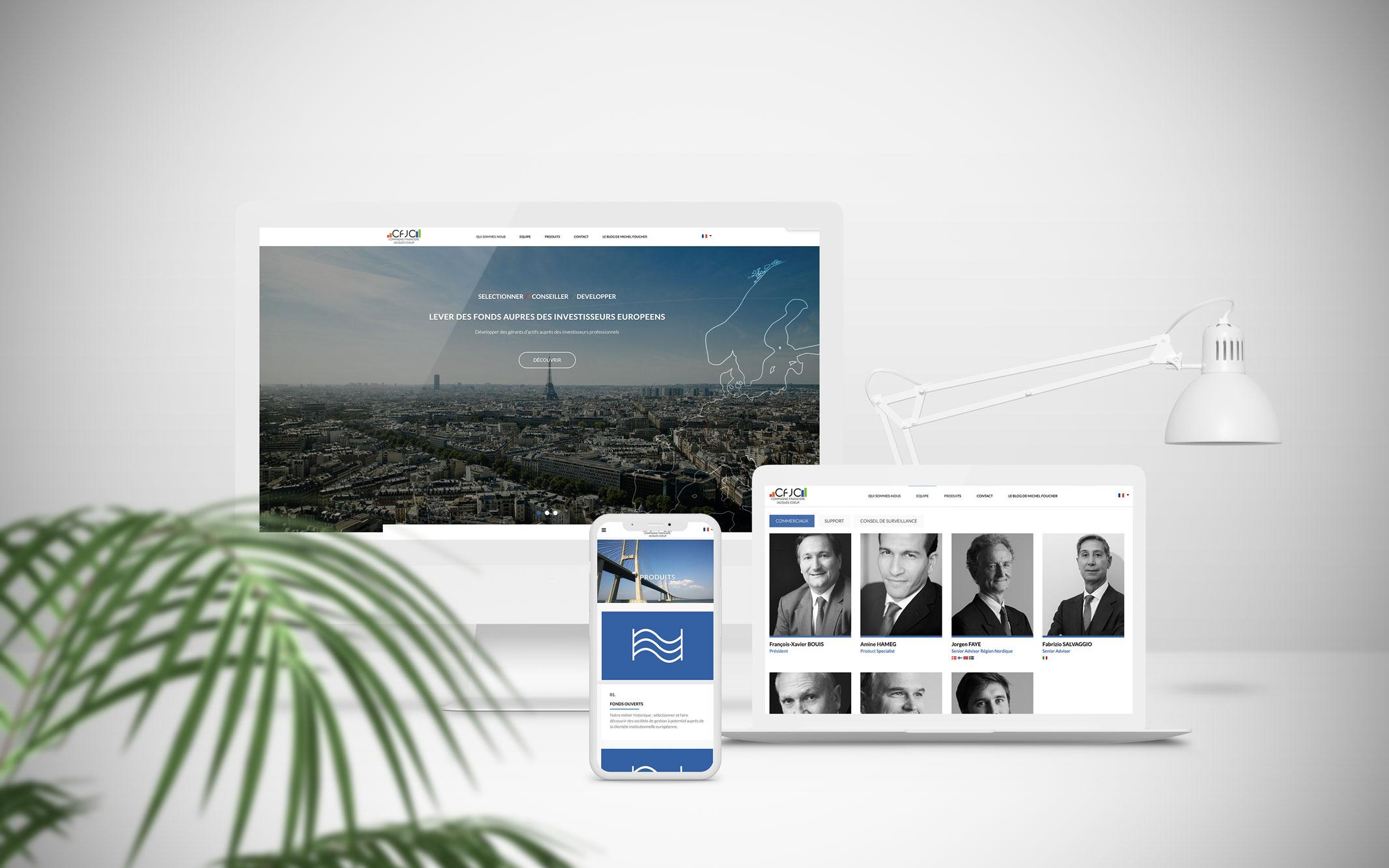 TheWizAdviz Création de site web